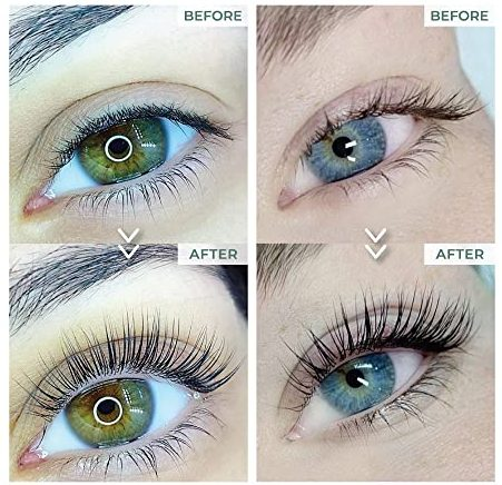 permanent lash lift lash curl at home before and after picture of lash lift kit amazon